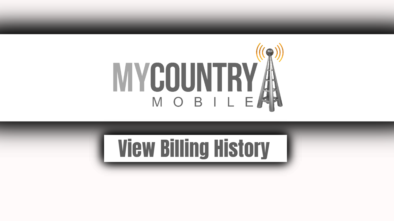 View Billing History