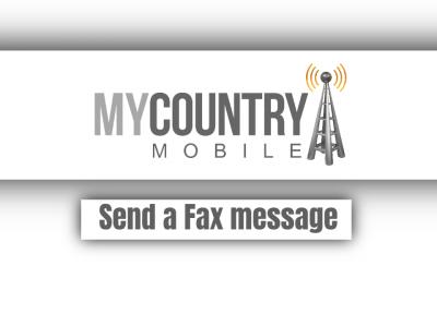 Send a Fax message