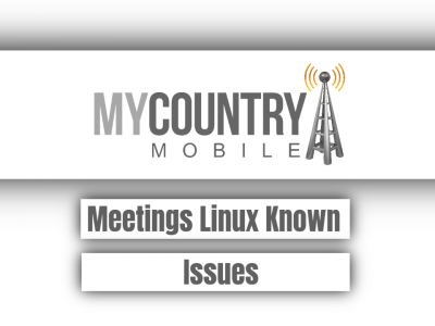 Meetings Linux Known Issues