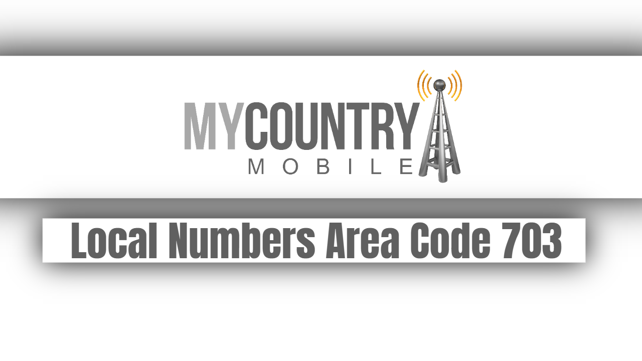 Local Numbers Area Code 703