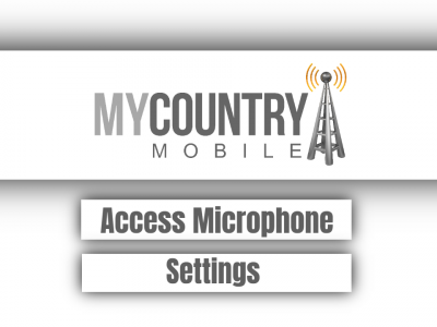 Access Microphone Settings