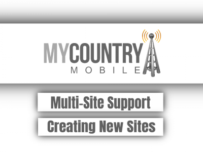 Multi-Site Support Creating New Sites