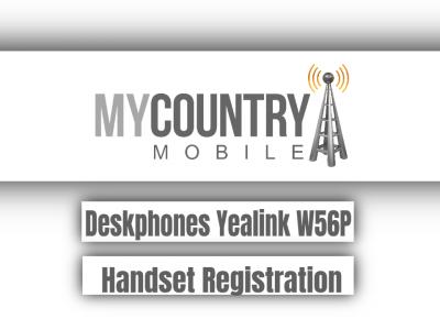 Deskphones Yealink W56P Handset Registration