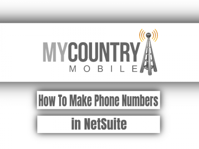 How To Make Phone Numbers in NetSuite