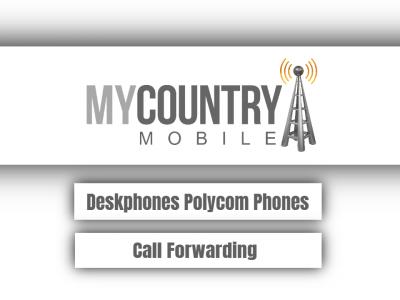 Deskphones Polycom Phones Call Forwarding