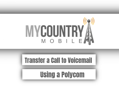 Transfer a Call to Voicemail Using a Polycom