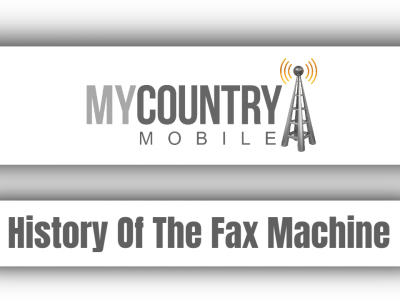 History Of The Fax Machine