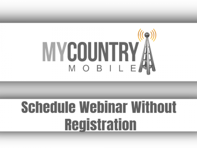 Schedule Webinar Without Registration