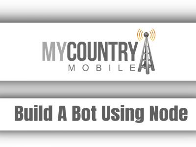 Build A Bot Using Node
