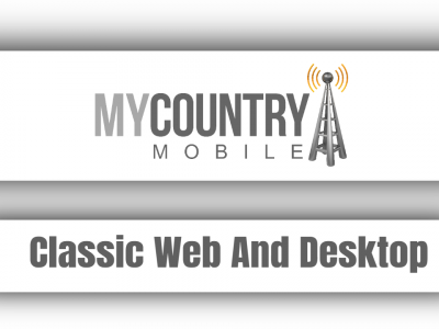Classic Web And Desktop