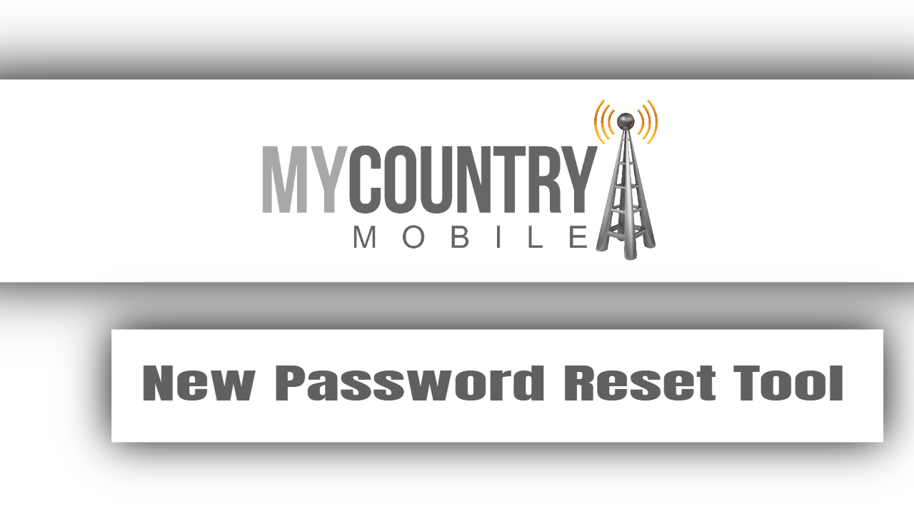 New Password Reset Tool