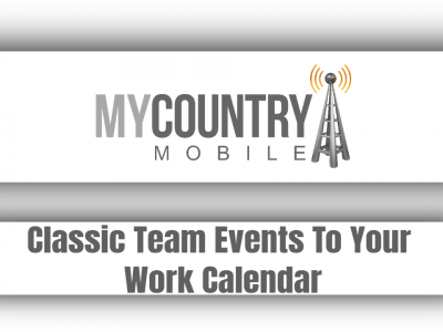 Classic Team Events To Your Work Calendar