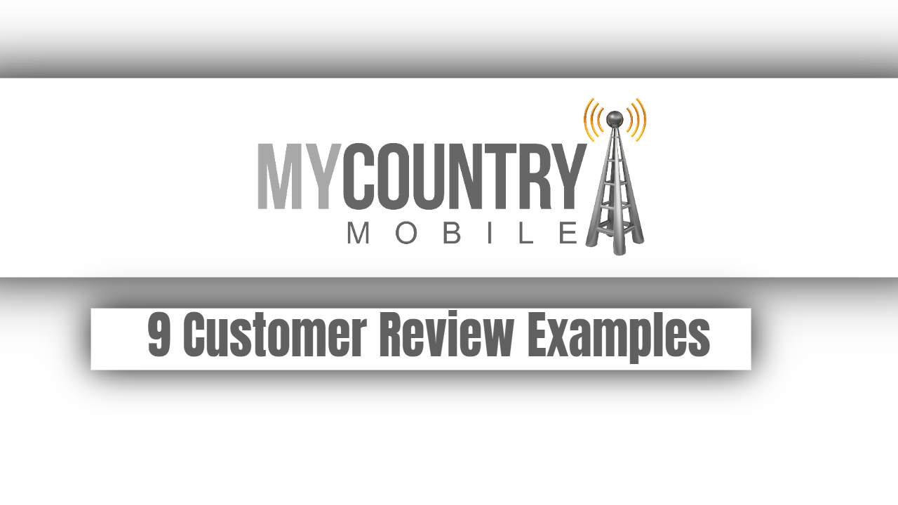 9 Customer Review Examples