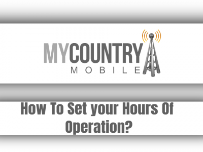 How To Set your Hours Of Operation?