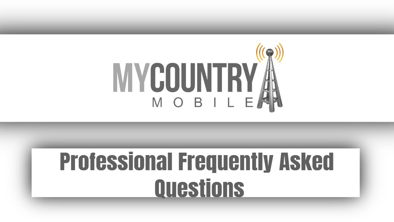 Professional Frequently Asked Questions