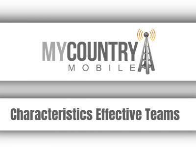 Characteristics Effective Teams