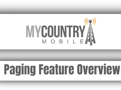 Paging Feature Overview
