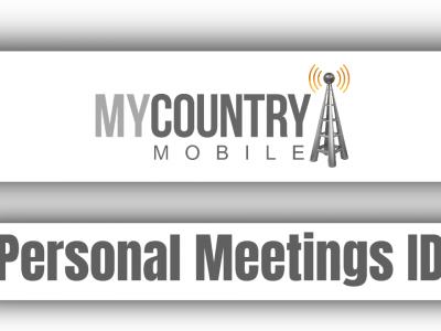 Personal Meetings ID