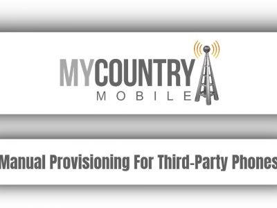 Manual Provisioning For Third-Party Phones