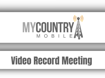 Video Record Meeting