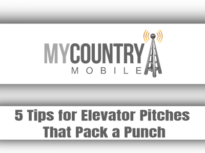 5 Tips for Elevator Pitches That Pack a Punch