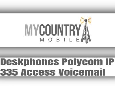 Deskphones Polycom IP 335 Access Voicemail