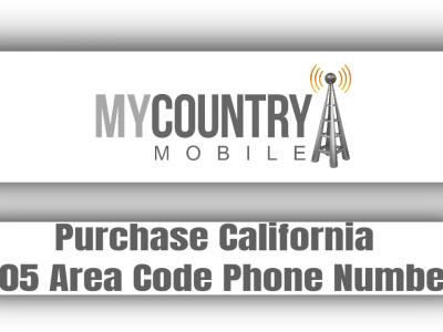 Purchase California 805 Area Code Phone Number