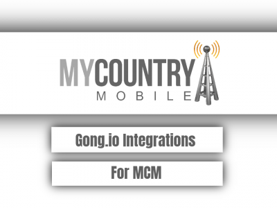 Gong.io Integrations For MCM