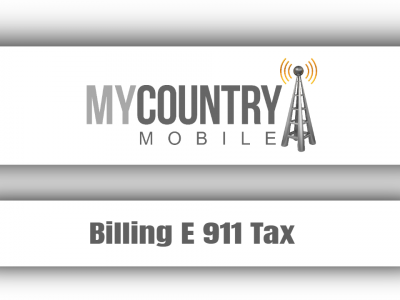Billing E 911 Tax