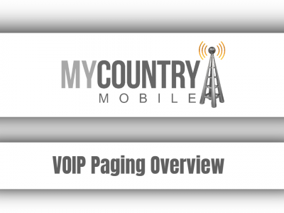 VOIP Paging Overview