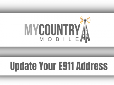 Update Your E911 Address
