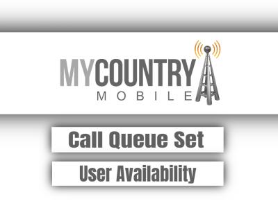 Call Queue Set User Availability