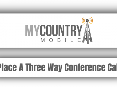 Place A Three Way Conference Call