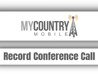 Record Conference Call