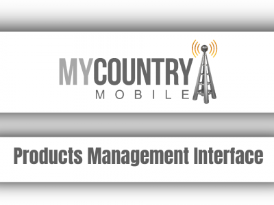 Products Management Interface