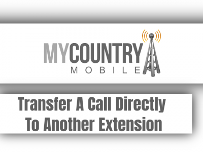 Transfer A Call Directly To Another Extension