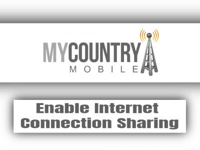 Enable Internet Connection Sharing
