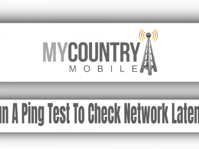 Run A Ping Test To Check Network Latency