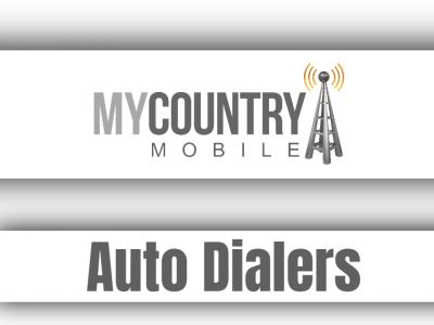 Auto Dialers