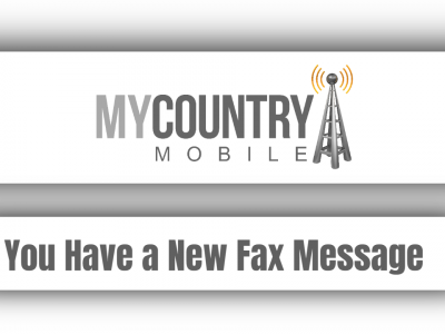 You Have a New Fax Message