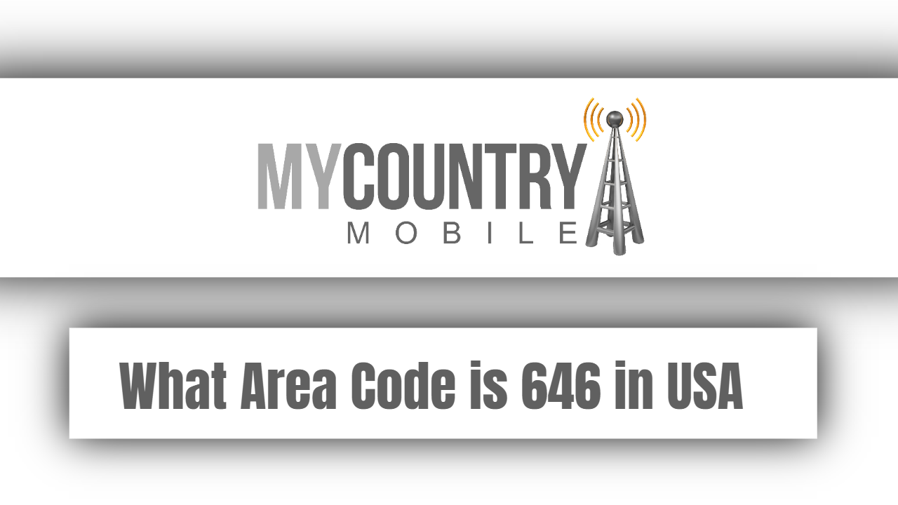 What Area Code is 646 in USA