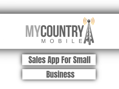 Sales App For Small Business
