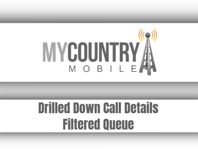 Drilled Down Call Details Filtered Queue