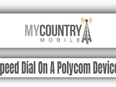 Speed Dial On A Polycom Device
