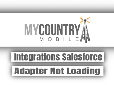 Integrations Salesforce Adapter Not Loading