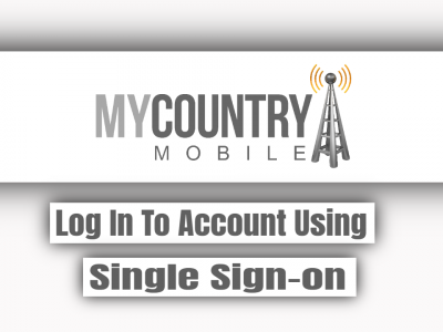 Log In To Account Using Single Sign-on