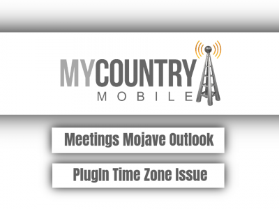 Meetings Mojave Outlook PlugIn Time Zone Issue
