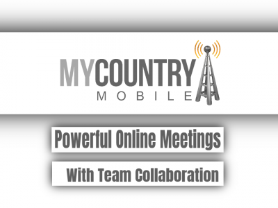 Powerful Online Meetings With Team Collaboration