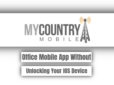Office Mobile App Without Unlocking Your IOS Device