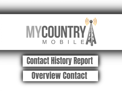 History Report Overview Contact